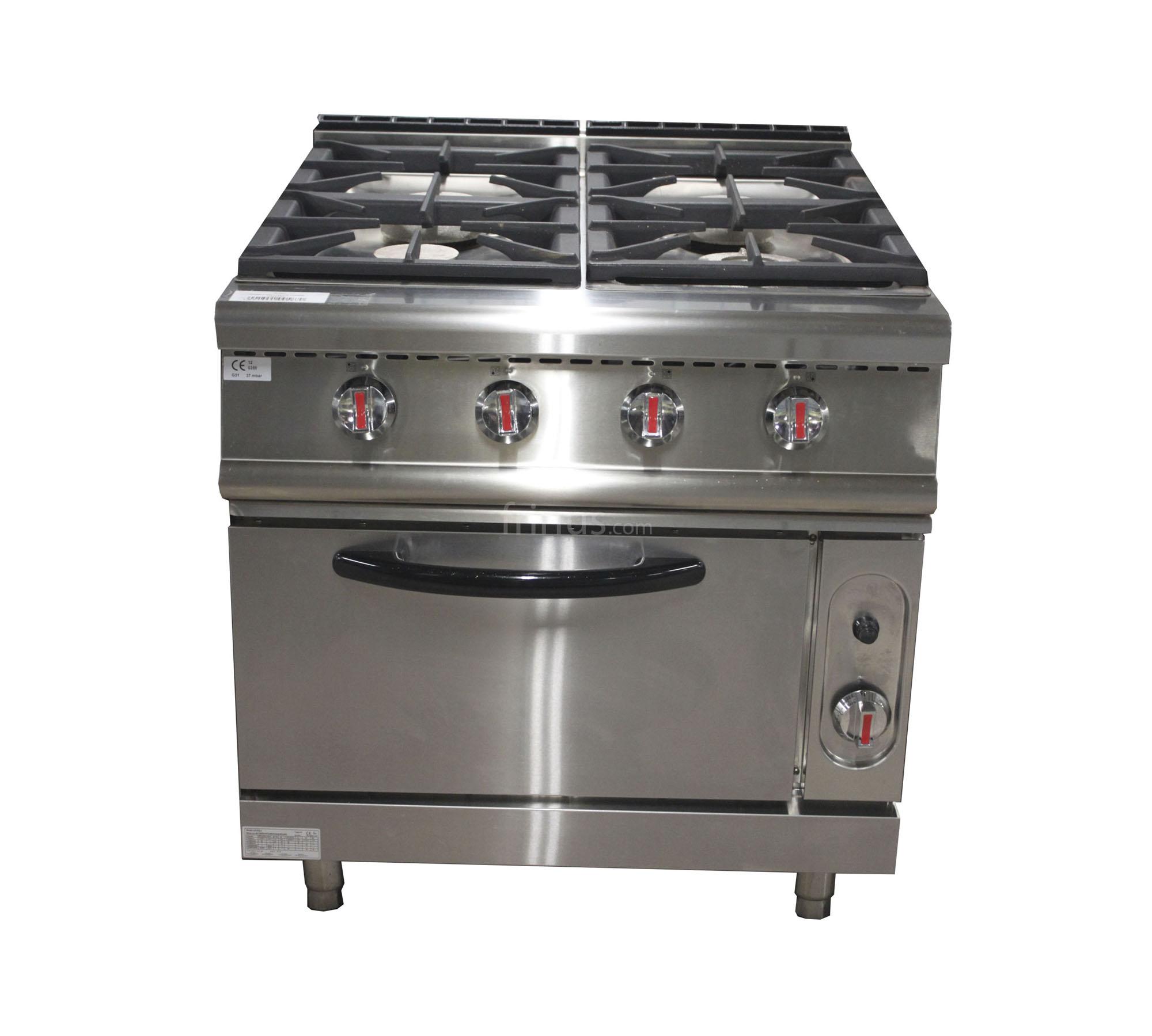 Bonito cocina a gas con horno fotos precio cocina de gas for Electrodomesticos industriales segunda mano